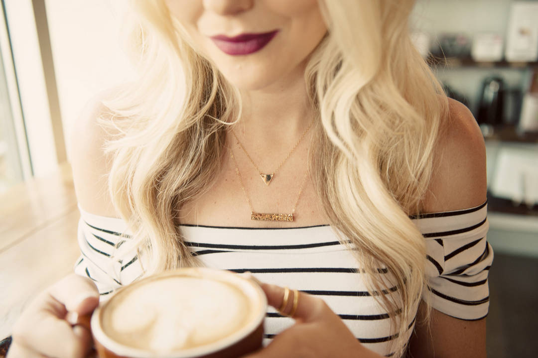 Coffee & Personalized Jewelry